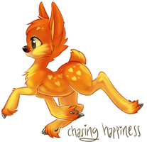chasing happiness by bricu
