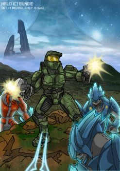 Halo Commission by MikeOrion