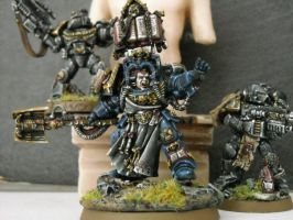 librarian with sternguard by Angels-Encarmine