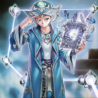 Spellbook Magician of Prophecy by Yugi-Master