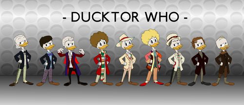 Ducktor Who Classics by JStCPatrick