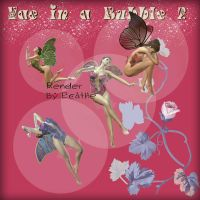 Faery in a bubble pack 2 by Ecathe