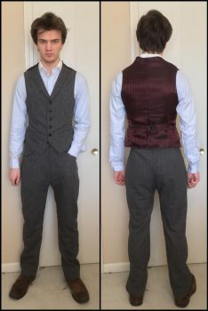 Peaky Blinders Tommy Shelby cosplay vest/pants by TimeyWimey-007