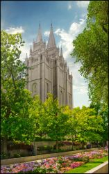 Temple Square by kittystalker