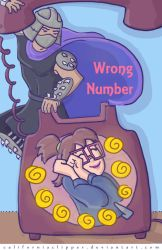 Wrong Number cover art by CaliforniaClipper