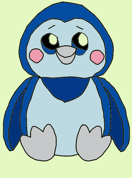 webkinz ice penguin drawing by lpscat123