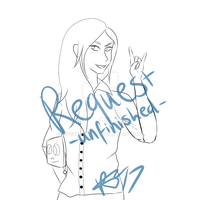 UNFINISHED REQUEST - siyltherin by CryDontSmile