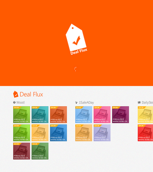 Deal Flux for Windows 8 by MetroUX