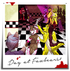 Day At Fazbear's {Completed} by xCailinMurre