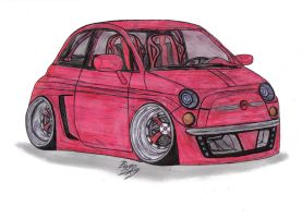 Fiat 500 430 Concept by Mister-Lou