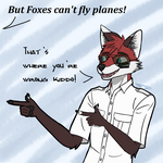 Foxes cant fly by SuperFrodo95