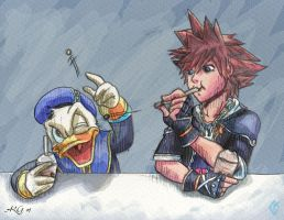 For Lynx:Donald, Sora and Boba by Rebmakash
