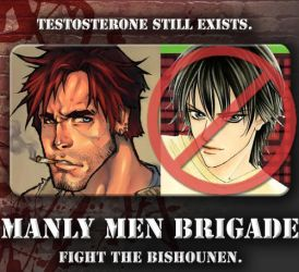 MANLY MEN BRIGADE ID by ManlyMenBrigade