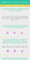 Pixel Tutorial: Using Silhouettes To Sprite by tahbikat