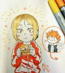 Happy Kenma by BlakkaStar