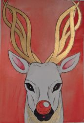 Rudolf the Halla by CherryJanie