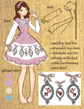 bambi dress for bodyline by may-chu