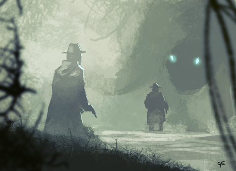 Something In The Mist by George-Eracleous