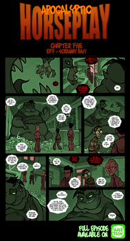 Apocalyptic Horseplay - CH5 Ep7 by Boredman