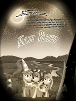 Flash Pluto and the Legend of Nightmare Moon -Alt by lightf4lls