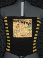 Less Than Jake Corset Top by crafterbynite