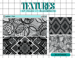 Textures 048 // Black and White by BEAPANDA