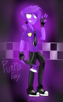 Fnaf -Purple guy by GutsiGunsii