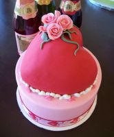 Valentines day cake by see-through-silence