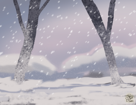 Snowy Landscape by A-Bright-Idea