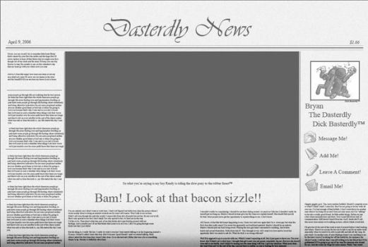 Dasterdly News by D1ckBasterdly