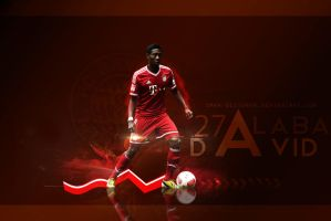 David Alaba Wall by Omar-Designer