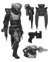 Bounty Hunter Concept - 4 by philldwill