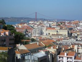 Photo- view of Lisbon 1 by Leo-McCarthy