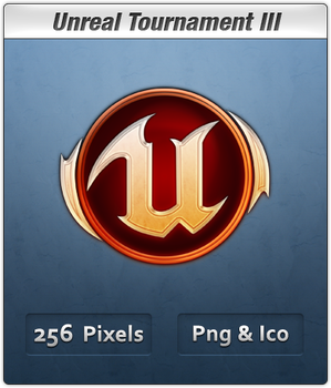 Unreal Tournament 3 New Badge by Th3-ProphetMan