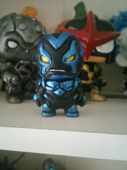 blue beetle by Dee9922
