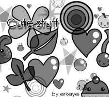 CuteStuff Brushes by arkaya