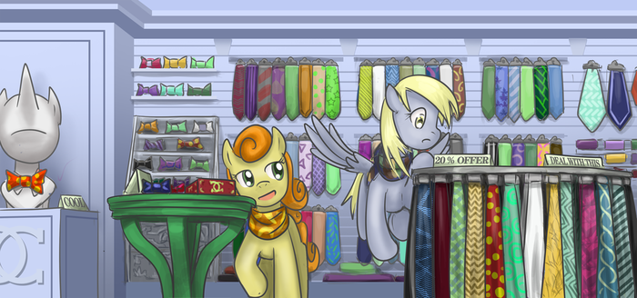 Canterlot shopping by saturnspace