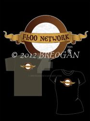 Floo Network Sign - Tee Design by Breogan