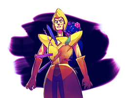 The Death of Yellow Diamond by M3KO