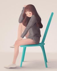 Resting Sit by jingsketch