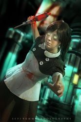 Little Sister Cosplay - Bioshock by Thecrystalshoe