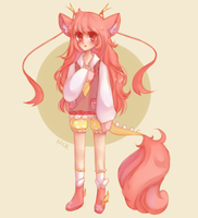 hana (adopt payment) by autumn--lleaves