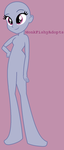 Standing There - Equestria Girls Base by MonkFishyAdopts