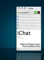 iChat Pro Skin For Miranda IM by WilliamZhao