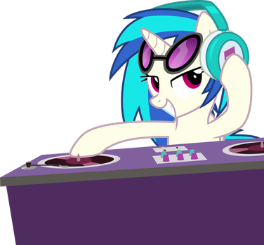 Rappin' with Vinyl by StarlessNight22