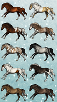 Winter Adopts - 8/10 OPEN by SlightlyMadStables