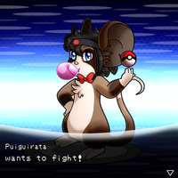 Puiguirata Wants to fight! by Sonicyss