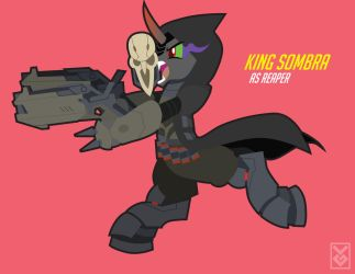King Sombra as Reaper by Inspectornills