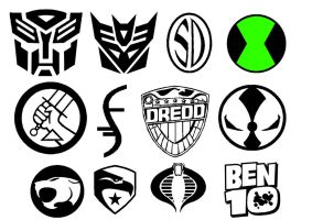 Misc comic symbols by Geekbot71