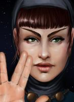 Live Long and Prosper by XeiArt